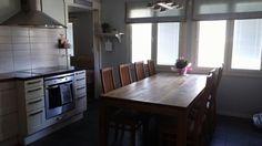 Keittiö Kitchen Island, Table, Furniture, Home Decor, Island Kitchen, Decoration Home, Room Decor, Tables, Home Furnishings