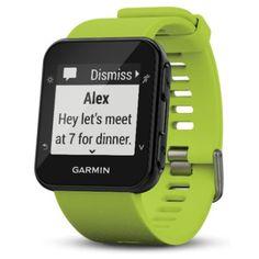 Garmin Forerunner 35 GPS Running Watch, Green