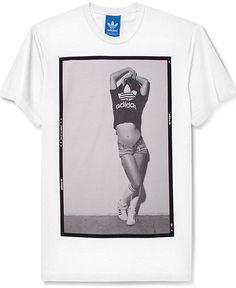 adidas Originals T-Shirt, Short-Sleeve Photo Negative Graphic T-Shirt. $30.00 #fashion #men #t-shirt #graphic #tee