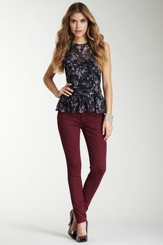 $29.00  $140.00  79% off  Romeo & Juliet Couture Colored Jean by Romeo & Juliet Couture on @HauteLook