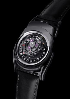 """C3H5N3O9 Experiment ZR012 """"Nitro"""" - (44мм x 55мм)  328 components, 42 jewels Power reserve 39hours, C3H5N3O9 is both the molecular formula for nitroglycerine and a horological experiment, Experiment ZR012 is an experimental platform, not a luxury brand"""
