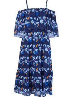 Shop Tanya Taylor moroccan print amara dress.