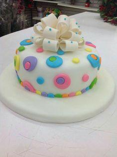 Fondant Birthday Cakes Cupcake Cute Sweet