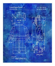 Grace any wall with this professional digital print of an iconic patent image worthy of any history- or art-lover's home. Engineered with rich, saturated colors and a luster finish, this white-bordered print is truly a work of art.13'' x 19''Gloss cover paperWipe cleanMade in the USA<...