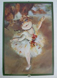 Little Dancer...me lembra a Consuelo....