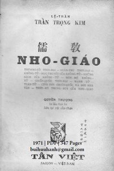Nho Giáo Quyển Thượng (NXB Tân Việt 1971) - Trần Trọng Kim, 347 Trang   Sách Việt Nam Personalized Items