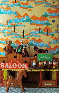 Valparaiso - Wall mural, Wallpaper, Photowall, Home decor, Fototapet, Valokuvatapetit