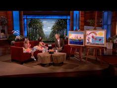 Sophia Grace & Rosie Brought Paintings