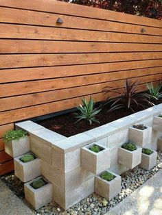 Awesome, lovely, modern, chic garden... looks easy & cheap but yet fabulous!!!!!