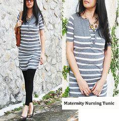 6881d2ab95d65 Nursing Tops Breastfeeding, Nursing Wear Malaysia. Really cheap to buy.  Maternity Tunic,