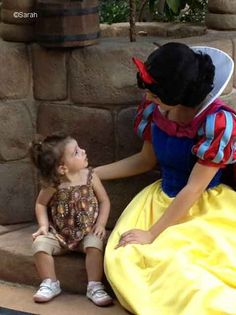 Chatting with Snow White