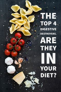 Doctor reveals the 4 common food items in your home that could be upsetting your digestive health. #weightlossmotivation