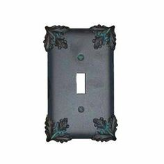 Anne at Home 5020F-231 Oak Switch Outlet Cover Switch Plate by Anne at Home. $24.57. Finish:Bronze with Black Wash, Configuration:Single GFI/Single Toggle - Two gang plate The Oak Suite is detailed and unique. The pieces are a strong interpretation of a natural motif that has never gone out of style. This kind of detail is what pewter does best. One gang plates measure 3-1/16' width Two gang plates measure 4-7/8' width Three gang plates measure 6-11/16' width Four gang plates...