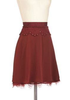 Oh Sew Pretty Skirt, #ModCloth