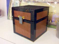 Minecraft chest made of Lego - Imgur