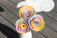 Pastel Rainbow Roses Arrangement - With a Cloud!  https://www.etsy.com/listing/179754077/pastel-rainbow-roses-arrangement-with-a?ref=shop_home_active_1