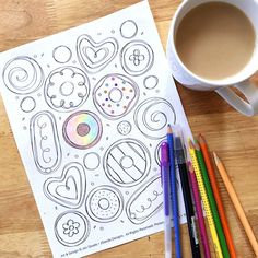 Free Printable Donut Memory Game The Is One Of My