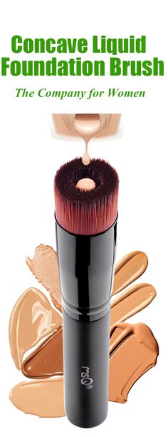 $9.50 Concave Fiber Liquid Foundation Brush