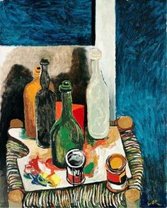 Renato Guttuso - Still Life, 1963