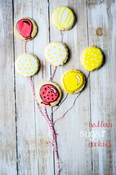 balloon sugar cookie-1