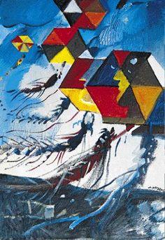 Χαρταετοί -Δημήτρης Μυταράς Art Paintings For Sale, Original Paintings For Sale, Greece Painting, Acrilic Paintings, Acrylic Wall Art, Greek Art, Conceptual Art, Teaching Art, Modern Art