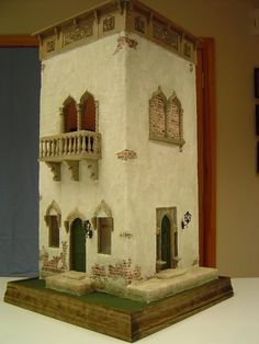 Venice Canal House 1/4 scale