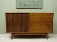 Mid Century Modern - Danish Style Credenza by Barzilay