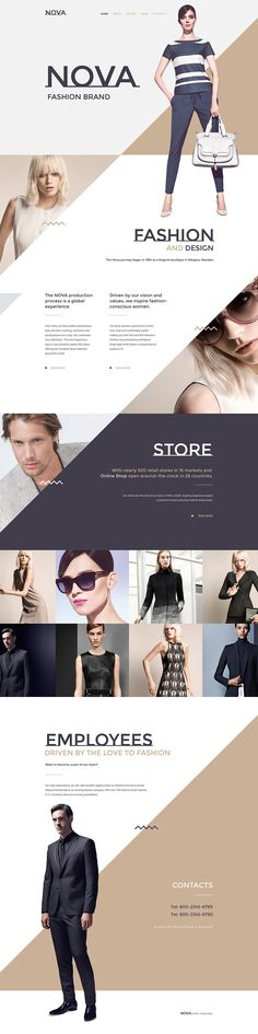 #SpecialOffers only $49  #Fashion Responsive Website Template. #html5 #css3 #validateCoding