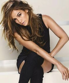Beautiful Jennifer #JLo #black #style