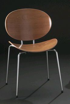 scandinavian design chair CURVE  DAN-FORM