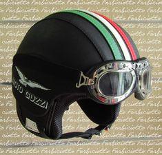 Risultati immagini per forbiciotto.com casco aviatore guzzi