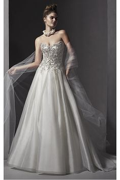 Stunning Church Sleeveless Lace-up Sweetheart Wedding Dresses