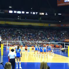 NCAA women's volleyball division 1 national championships!