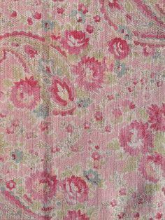 vintage paisley rose. Sarah Hardaker fabric