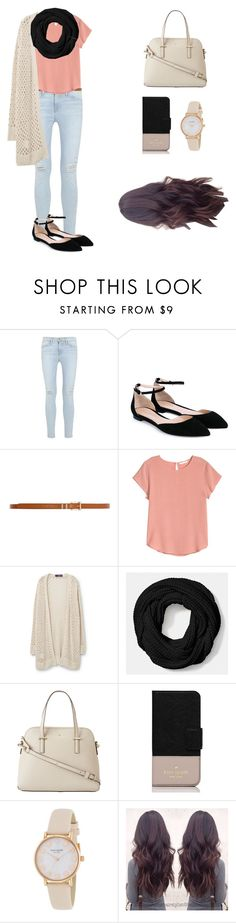 """Spring has sprung"" by arisac ❤ liked on Polyvore featuring Frame Denim, Gianvito Rossi, Dorothy Perkins, H&M, Violeta by Mango, Coach and Kate Spade"