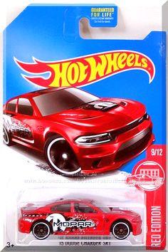 "Mtlflk Dark Red, w/Gray interior, Clear windows, Worn black stripe over hood, roof & trunk, White ""MOPAR"" & ""M"" (Mopar) logo on hood, White ""SRT"" twice on hood, Black graphics on side with large ""MOPAR"" & ""M"" (Mopar) logo, White ""Dodge"" on rear quarters, Black Hot Wheels logo on rear quarters, Black Malaysia base, w/BlkPR5's. Only $6.59 with Free Shipping!"