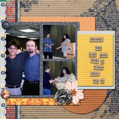 Pictures from an awards banquet.  Template: Friendship Matters 2 by Brenian Designs available at http://www.godigitalscrapbooking.com/shop/index.php?main_page=product_dnld_info&cPath=234_398_392&products_id=25118  Kit used: Work Day by Elif Sahin