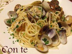 ボンゴレ・ビアンコの作り方 【パスタレシピ】 Pasta, Spaghetti, Cooking, Ethnic Recipes, How To Make, Food, Kitchen, Essen, Meals