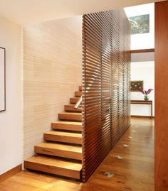 10 Simple, elegant and diverse wooden staircase design ideas - Home Decorating Trends
