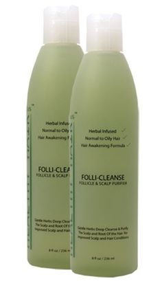 BUY 1 GET 1 60% OFF!  Follicleanse - Our best clarifying shampoo for oily hair, dandruff & product build-up! Deep cleans hair follicles and scalp removing product build-up, oil, dirt and promoting healthy hair growth!      >Deep cleans oil, dirt, product residue and bacteria     >Excellent for flaking, dandruff, inflammation, and itching     >Leaves hair and scalp fresh & clean