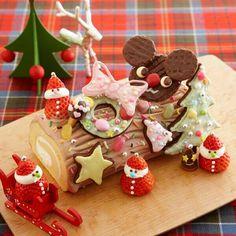 bûche de Noël (yule log)