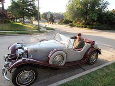 39 Jaguar Replica -- first test drive out to visit Robert.