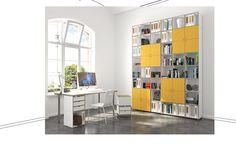 Modulares Regalsystem fürs Arbeitszimmer #büroregal #stocubo