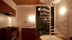 """""""Small House"""" is Unemeri Architects' solution to living functionally on a block of land that is ..."""