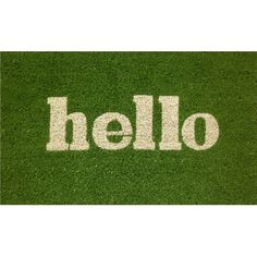 Found it at AllModern - Hello Doormat