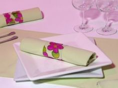 Simple and original idea to decorate your table for dinner