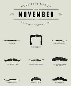 It's Movember!  I would love your support.
