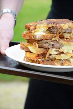 Chic, chic, chocolat...: Patty melt, le burger fondant entre deux tranches de pain