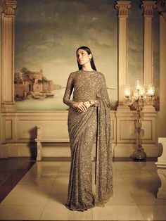 Sabyasachi's latest Summer Couture collection is perfect for your next destination wedding Indian Fashion Dresses, Indian Bridal Fashion, Dress Indian Style, Indian Designer Outfits, Indian Wedding Outfits, Indian Outfits, Indian Bridal Lehenga, Pakistani Bridal Dresses, Golden Saree