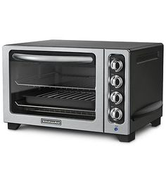 Toaster Ovens 122930: Kitchenaid 12 Inch Countertop Oven - Kco222ob Onyx Black -> BUY IT NOW ONLY: $129.99 on eBay!